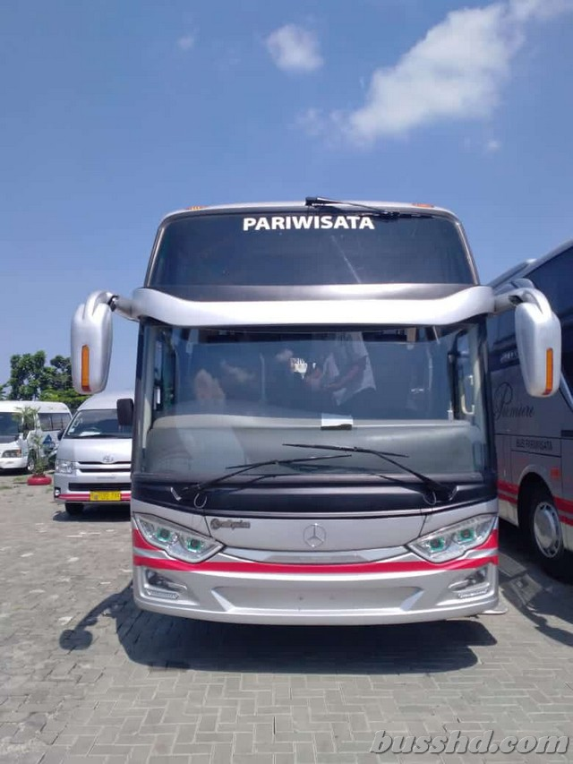 Harga Sewa Bus SHD White Horse dari Magelang