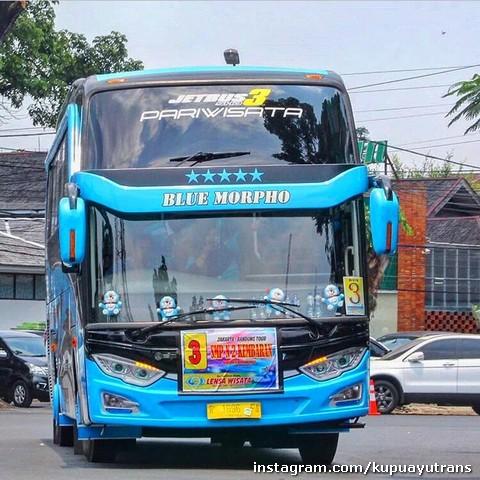 Bus Pariwisata Shd Kupu Kupu Ayu Magelang