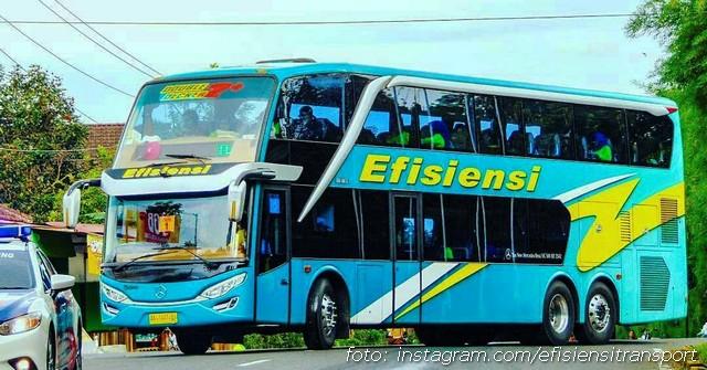 Sewa Bus TIngkat Efisiensi