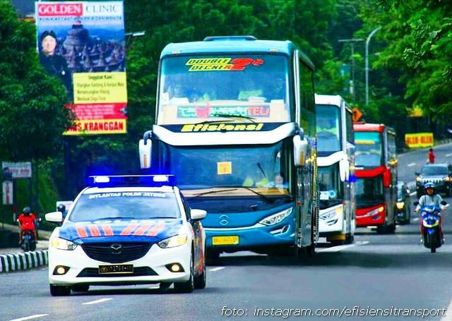 Bus Double Decker Efisiensi