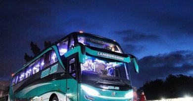 Bus Subur Jaya Di Malam Hari 3