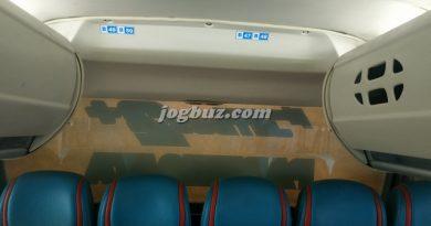 Foto Interior Bus Shd Putra Perdana