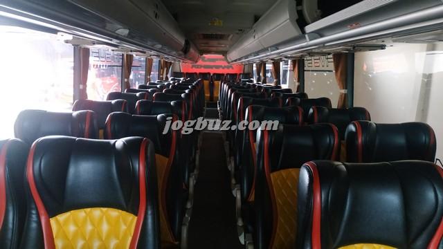Gambar Kursi Bus Pariwisata Putra Perdana