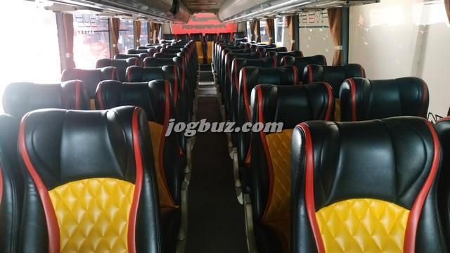 Interior Bus Pariwisata Putra Perdana 2020
