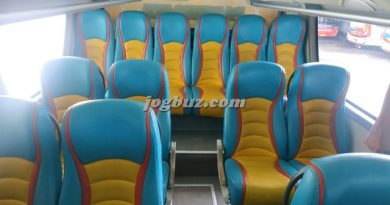 Jok Bus Pariwisata Shd Putra Perdana