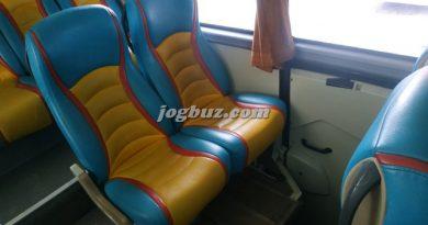 Seat Bus Shd Pariwisata Putra Perdana