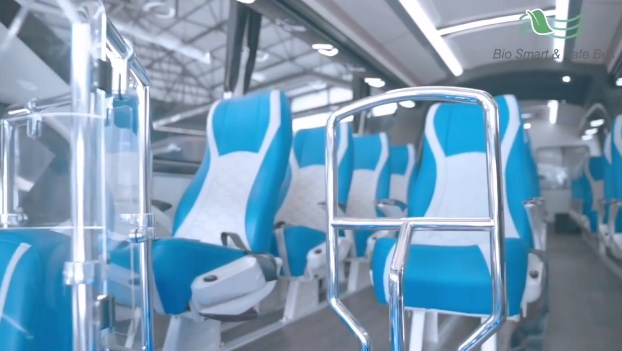 Bio Smart And Safe Bus Laksana Interior