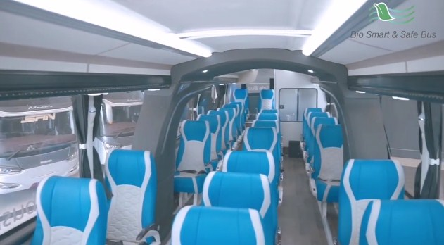 Bio Smart And Safe Bus Laksana Konfigurasi Seat
