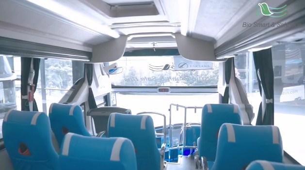 Tampak Dalam Bio Smart And Safe Bus Laksana
