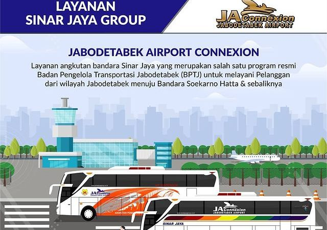 Informasi Bus Bandara Soekarno Hatta Sinar Jaya