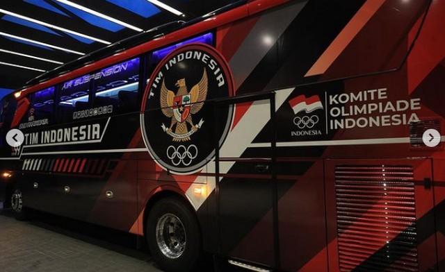 Juragan 99 Trans Dukung Tim Olimpiade